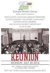 SMG Reunion Advert Rise Publication