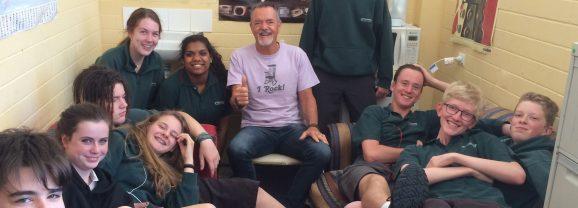 SA's longest serving school Chaplain still passionate about serving his community
