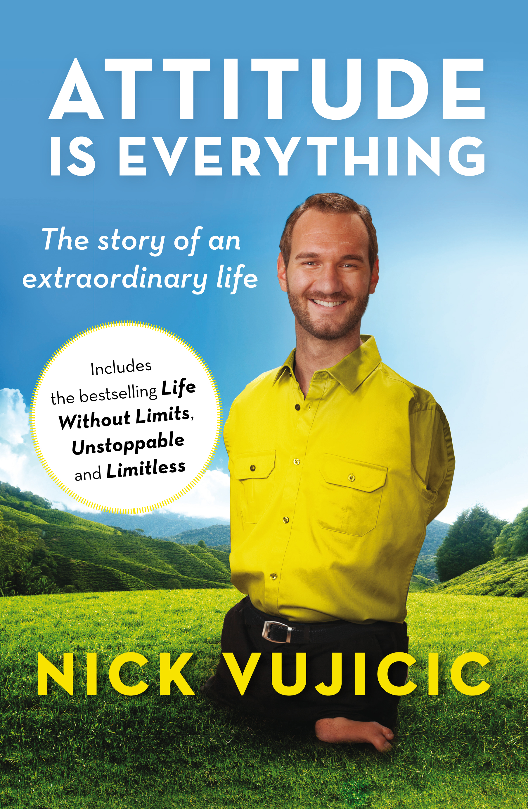 how did nick vujicic lose his limbs