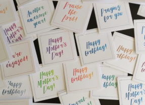 Poverty-fighting greeting cards